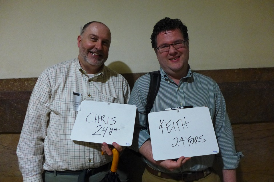 Philadelphia Chris and Keith #oy