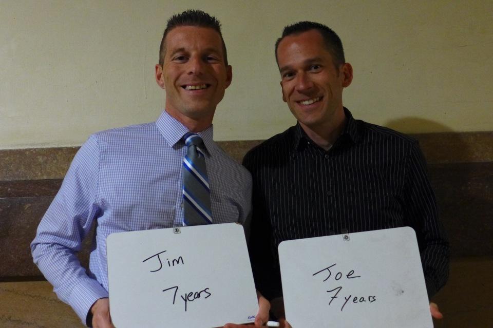 Philadelphia Jim and Joe #oy