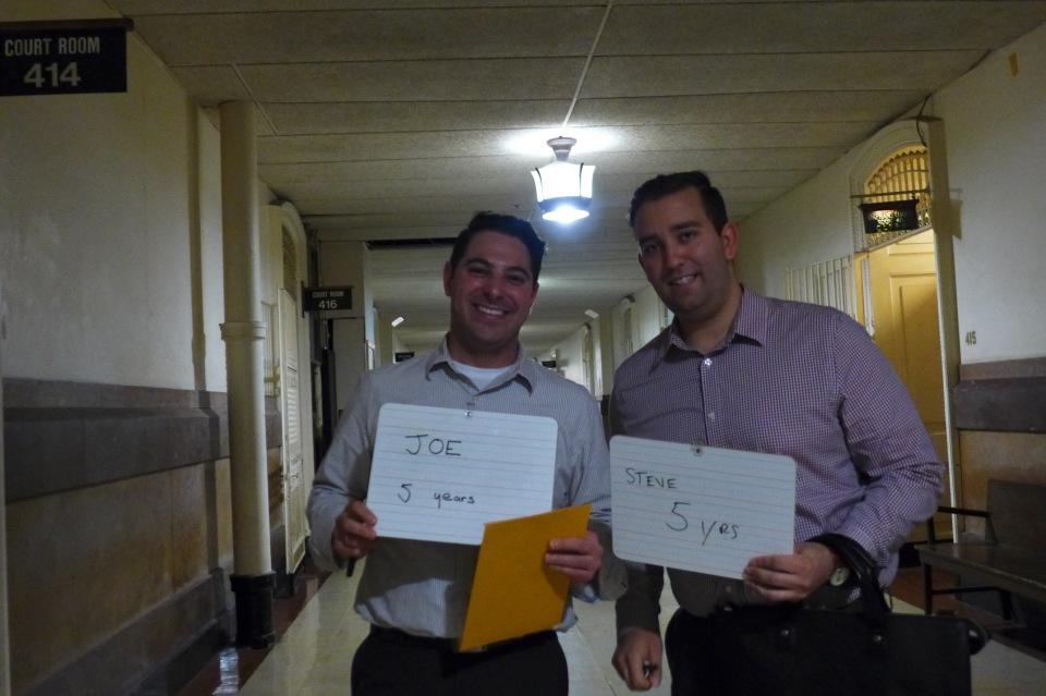 Philadelphia Joe and Steve number of years