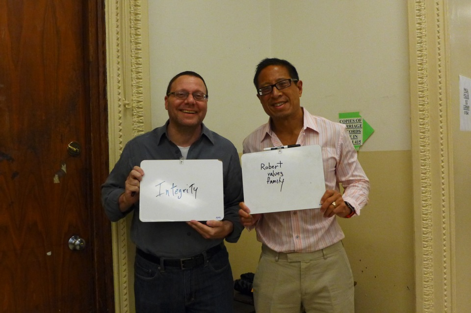 Philadelphia Robert and Anthony show us