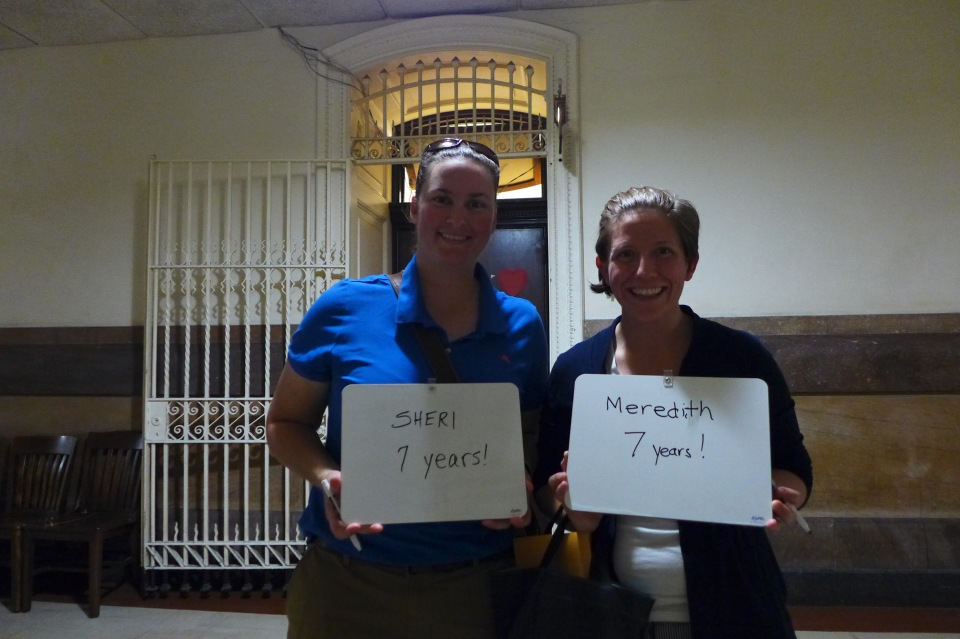 Philadelphia Sheri and Meredith #oy