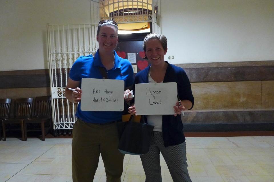 Philadelphia Sheri and Meredith show us